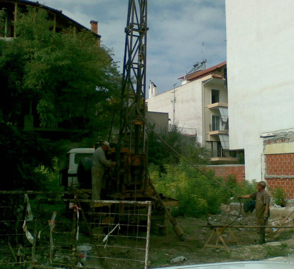 5 storey building at Eleutuherias St.-Larissa