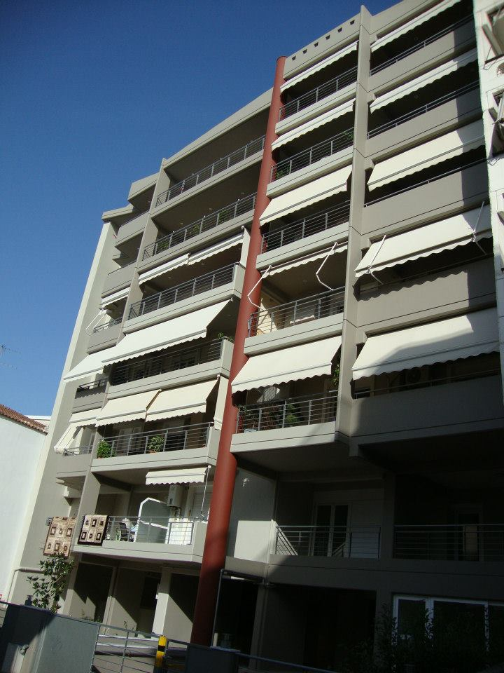 7 storey building at Xenofontos St.-Larissa