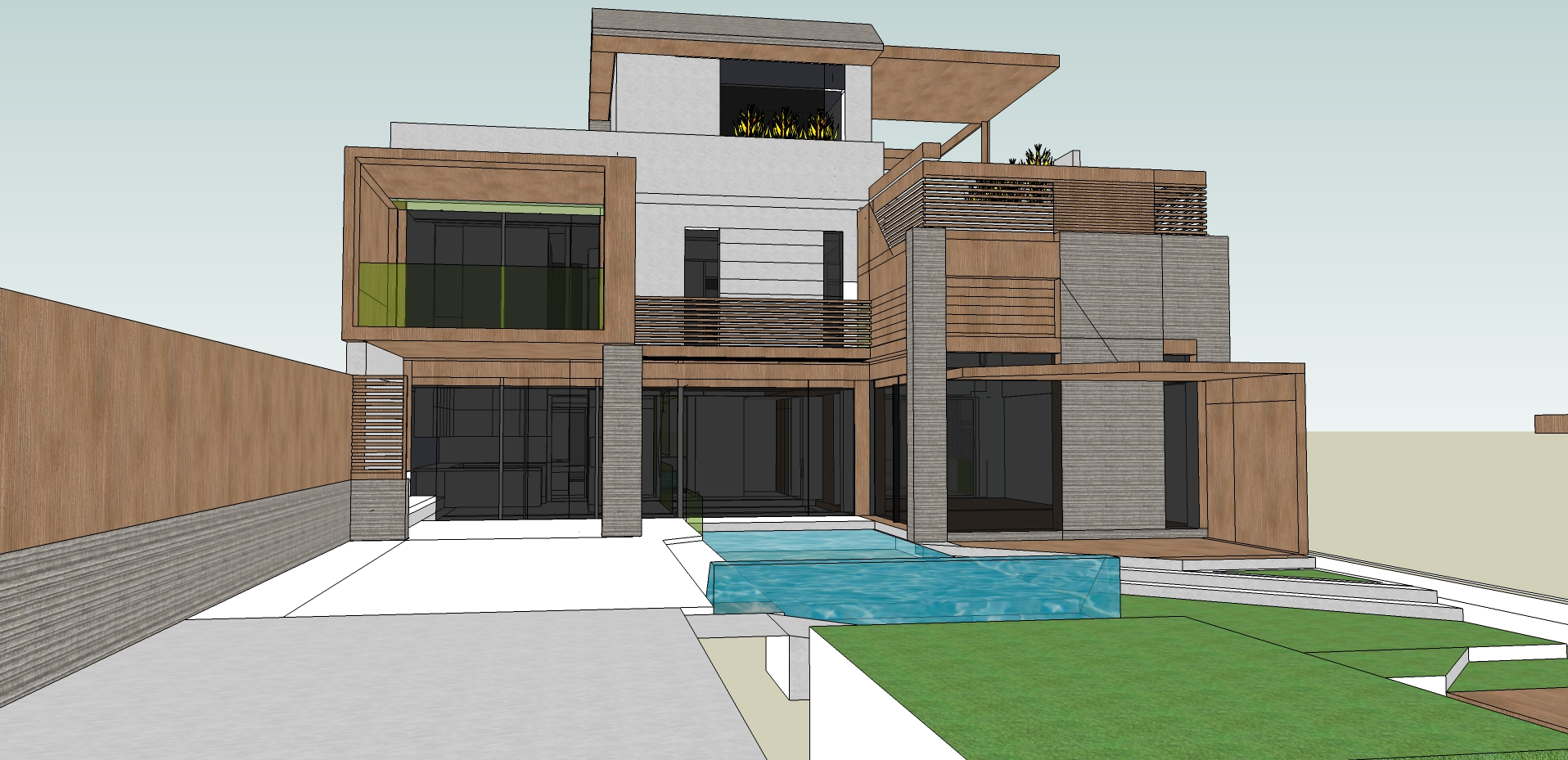 Structural Design of a 3 storey building in Larissa-2013. The project was undertaken by IAS architects.