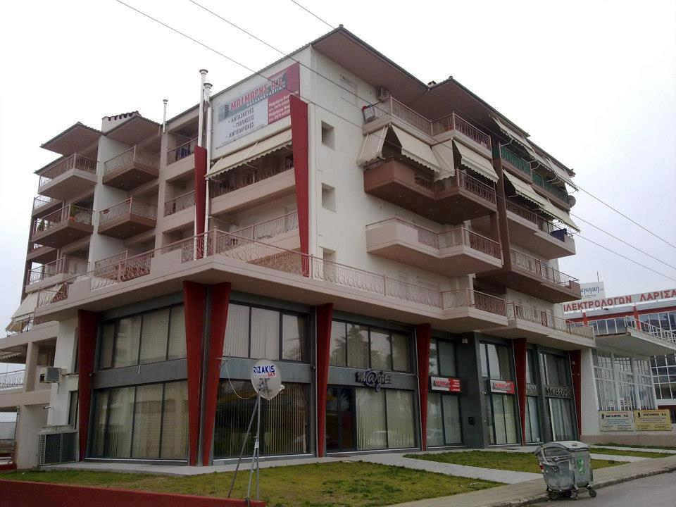 Structural Design of a 5 storey building in Larisa-2008