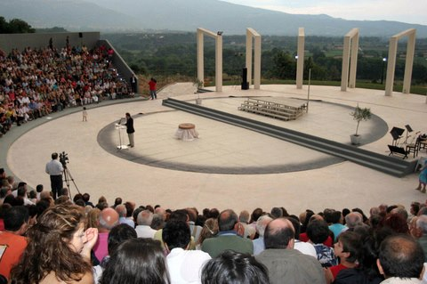 Structural designs for the open theater of Tempi,municipality of Eurimenes, 2002