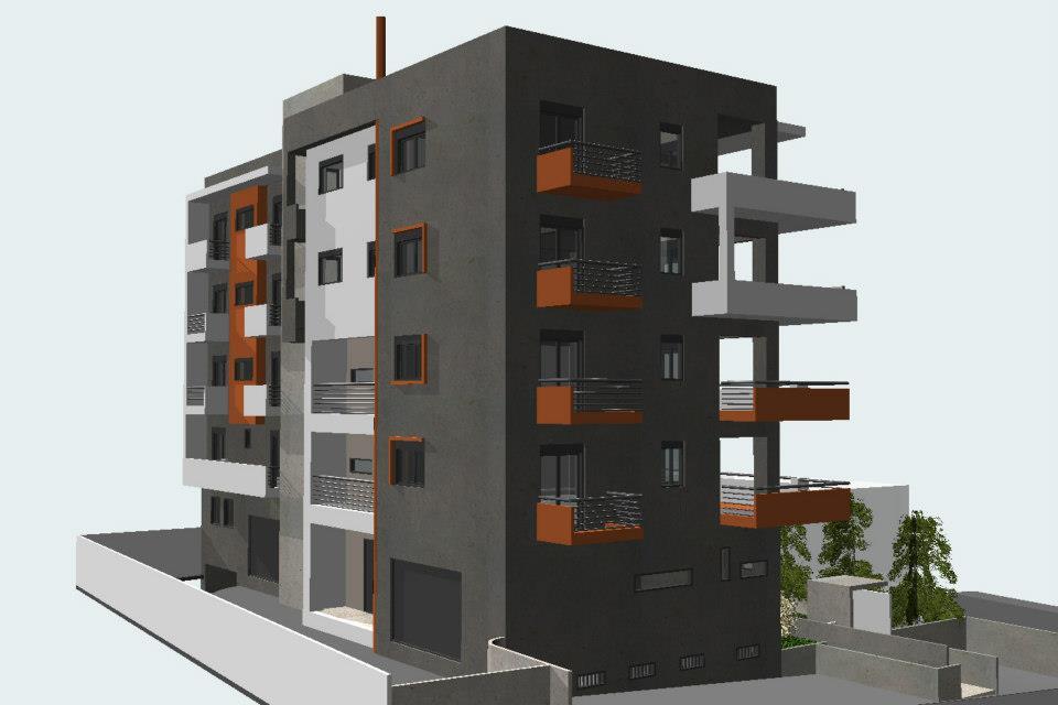 5 Storey Building In Kalamaria Thessaloniki Year 2009