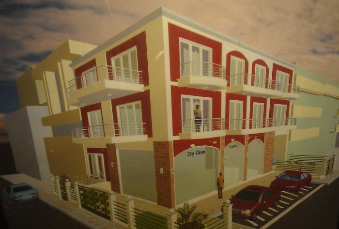 commercial & residential building in t Larissa, Greece 2002 ,Alexandros Tzimoziogas Civl Engineer