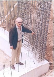 Leonidas tzimoziogas-founder of Tzimoziogas engineers construction company